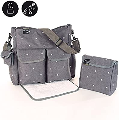 Walking mum - Bolsa canastilla gaby winter