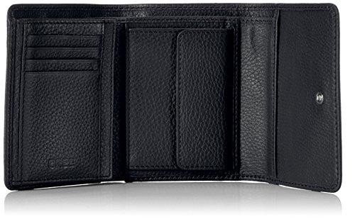 BREE Unisex-Erwachsene Liv 106 Geldbörsen Schwarz (Black 900)