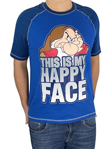 Disney Gruñón - Camiseta para hombre Grumpy