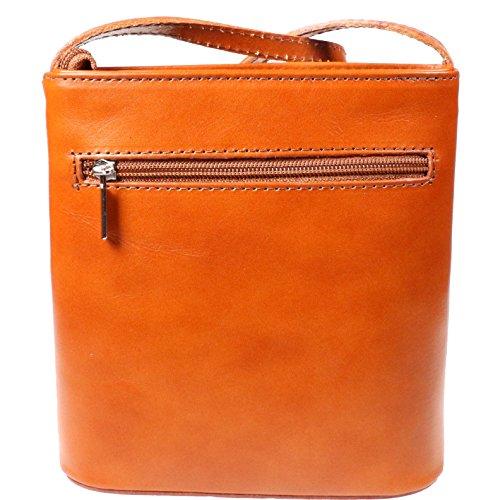 Vera Pelle , Borsa Messenger Orange
