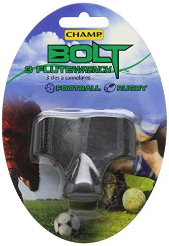 Champ Bolt Fußball Ohrstecker Schlüssel schwarz - schwarz