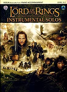 The Lord of the Rings Instrumental Solos for Violin (with CD)