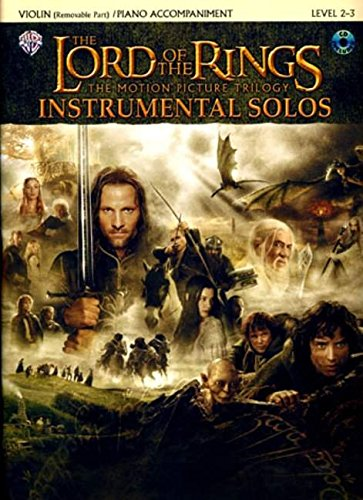 The Lord of the Rings Instrumental Solos for Violin (with CD) por Howard Shore