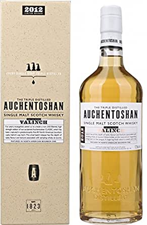 Auchentoshan Valinch 2012Limited Release Non Chill Filtered Whisky, 70 cl Giftbox