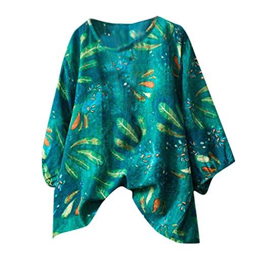 Malloom-Bekleidung Frauen Beiläufiges Halbes Hülsen Einfaches Grundlegendes Druck T Stück Spitzenblusen Hemd Bedrucktes Baumwolloberteil Mit Mittlerem Ärmel (Sweatpant-sets Womens)