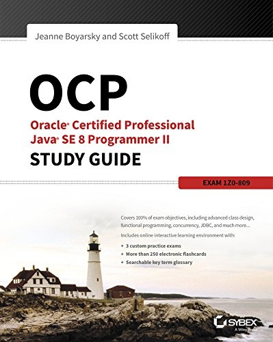OCP: Oracle Certified Professional Java SE 8 Programmer II Study Guide: Exam 1Z0-809 (English Edition)