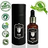The Yogi Classic Beard, Moustache & Hair Growth Oil - 30 Ml With Vitamin E, Argan Oil + More Organic And All Natural...