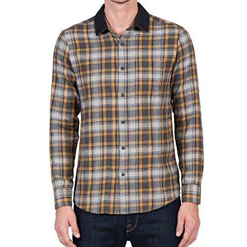 Volcom Men's Hemd Payne Longsleeve Long Sleeve Button-Down Shirt
