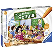 Ravensburger tiptoi Wir spielen Schule 00733/Experience Interactively a Full Day At School [Cannot Guarantee English]