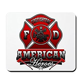 CafePress - American Heroes - Non-slip Rubber Mousepad, Gaming Mouse Pad