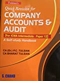 Tulsian Quick Revision For Company Accounts & Audit