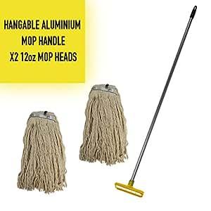 Kentucky Mop C/W HD Alu Handle & 2 Heads