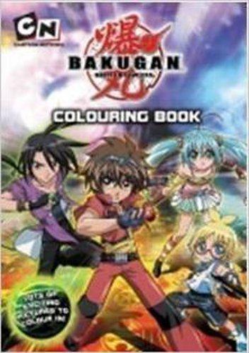 Bakugan: Colouring Book