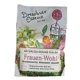 5er Pack Dresdner Essenz Gesundheitsbad 'Frauen-Wohl' 5 x 60 g für 1 Vollbad Badezusatz Rosmarin Orange Frauenmantel Aromabad