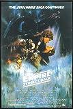 Star Wars Poster Empire Strikes back Style A (93x62 cm) gerahmt in: Rahmen schwarz