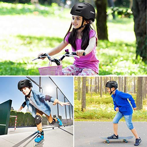 Zoom IMG-1 enkeeo casco da bici per