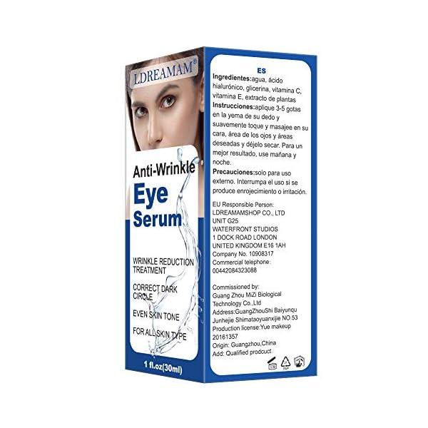 suero para el contorno de ojos,Crema para los Ojos,suero antiedad para arrugas y bolsas para los ojos,Elimina la…