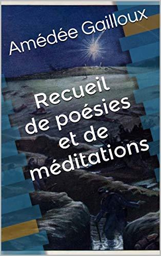Couverture du livre Recueil de poésies et de méditations