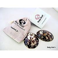 Concha de lactancia Baby Shell Ð Concha natural para la prevenci—n y el tratamiento de grietas.