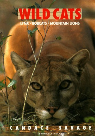 Wild Cats: Lynx Bobcats Mountain Lions by Candace Savage (1994-09-20) (Bobcat Lynx)