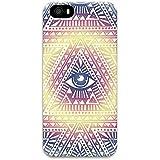 iPhone 5S Case Funda, Native Illuminati Art Print iPhone 5, iPhone 5s Carcasa para iPhone 5S, iPhone 5, Carcasa iPhone 5S Funda