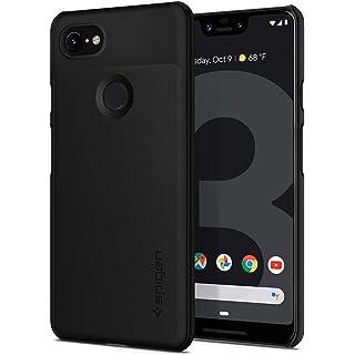 spigen Polycarbonate Back Cover for Google Pixel 3 XL   Black