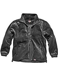 Dickies Seville Fleece Jacket, Charcoal Grey, Small