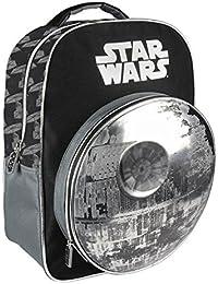 Preisvergleich für Cerdá 3D Star Wars Kinder-Rucksack, 41 cm, Grau (gris)