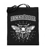 Chorchester Hochwertiger Jutebeutel (mit langen Henkeln) - Bienenflüsterer - Ideal für Imker!