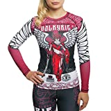 Hardcore Training Ladies Rashguard Valkyrie-m Damen Kompressionsshirt
