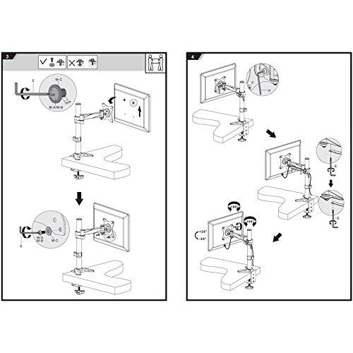 144Hz Monitor - savonga-tv-monitor-halterung-tischstaender-201l-fuer-13-bis-30-zoll-flache-bildschirm-vesa-75x75-100x100-8
