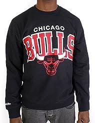 Sweat Mitchell & Ness Bulls ARCH Noir