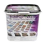 ROMPOX® - EASY 1K Pflasterfugenmörtel 15 kg - Sand-Basalt - 1-komponentig für leichte Belastung - für eine feste & saubere Pflasterfuge