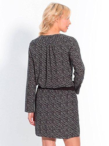 Balsamik - Robe imprimée, poitrine standard - femme Bicolore noir/blanc