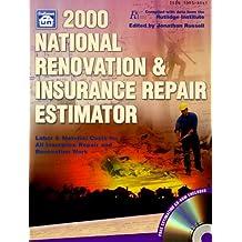 2000 National Renovation & Insurance Repair Estimator: With Data from the Rutlidge Institute