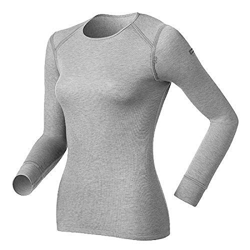 Odlo Damen T-Shirt L/S Crew Neck Active Originals War Unterhemd XXL Gris