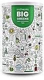 Big Greens Superfood Pulver | 600 g | 20+ Superfoods harmonische kombiniert wie Gerstengras, OPC, Acerola, Reishi, Chlorella | vegan, ohne Laktose & Soja | HERGESTELLT IN DEUTSCHLAND | 1-Monatsvorrat