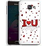 Samsung Galaxy A3 (2016) Housse Étui Protection Coque Amour Amour C½ur