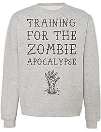Training For The Zombie Apocalypse Sudadera Unisex