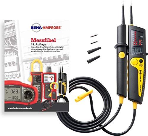 Beha-Amprobe 2100-BETA MF KIT Zweipoliger Spannungsprüfer CAT IV 690 V, CAT III 690V Akustik, LCD,