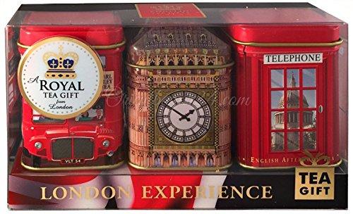 Ahmad Tea Sammler Dosen inkl Tea (Royal Rot)