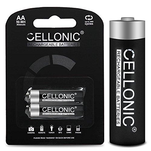 subtel® Batterie Premium Compatible avec Siemens Gigaset 2000c, 3000, 3010, 4000 Comfort, 4115 ISDN, 4170, 4175 (2600mAh) Batterie de Recharge, Accu Remplacement