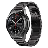 Sundaree Compatible avec Gear S3 Frontier Bracelet de Montre,22MM SM-R760 Bracelet...