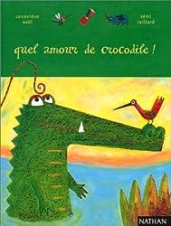 Quel amour de crocodile !