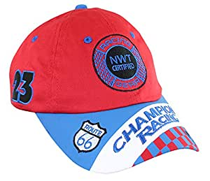 Aeromax RSRB-CAP Jr. Champion Racing Red and Blue Cap - Adj Taille de la jeunesse