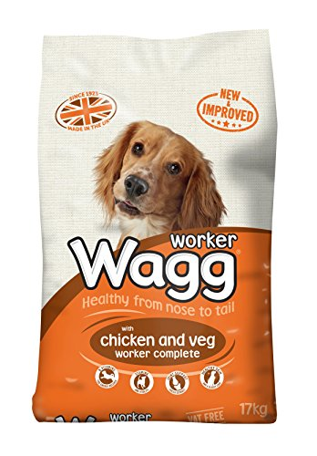 Wagg Complete Worker Dry Mix Dog Food Chicken & Vegetables, 17kg