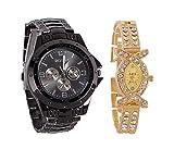 Aaradhya Fashion Men & Women Watch Combo...