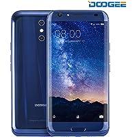 Smartphone Android, DOOGEE BL5000 Dual SIM Telefonia Mobile - 4G 5050 mAh Cellulari in Offerta - 5.5 Pollici HD Sharp Schermo Telefoni con 4GB RAM + 64GB ROM - Doppio 13.0MP Fotocamera Posteriori + 8.0MP Fotocamera Anteriore e Sensore di Impronte Digitali - Blu