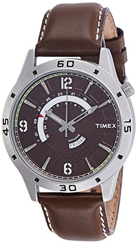 Timex Analog Brown Dial Men's Watch-TW000U910