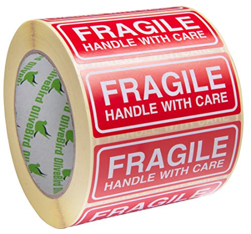 1000 Adhesivos Fragile Handle With Care Adhesivos